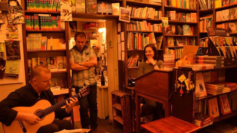 Musik in der Lichtenrader Bücherstube (2017)