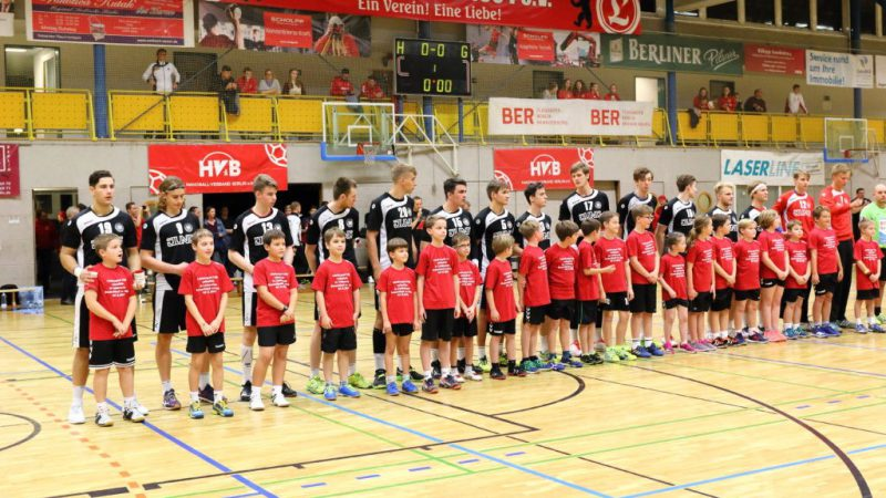 Spiel der männlichen Handball-Jugendnationalmannschaft Deutschland vs. Polen (Gebietsfondsprojekt 2017), Quelle: VfL Lichtenrade e.V.