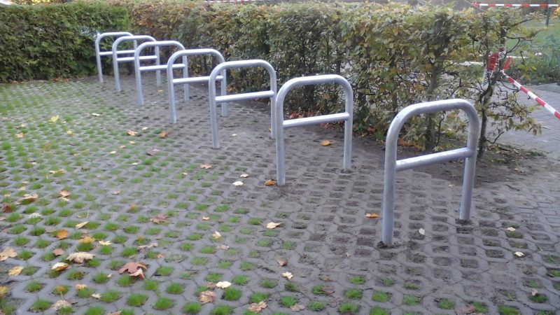 Fahrradabstellplätze Salvator Kirchengemeinde (Gebietsfondsprojekt 2017)