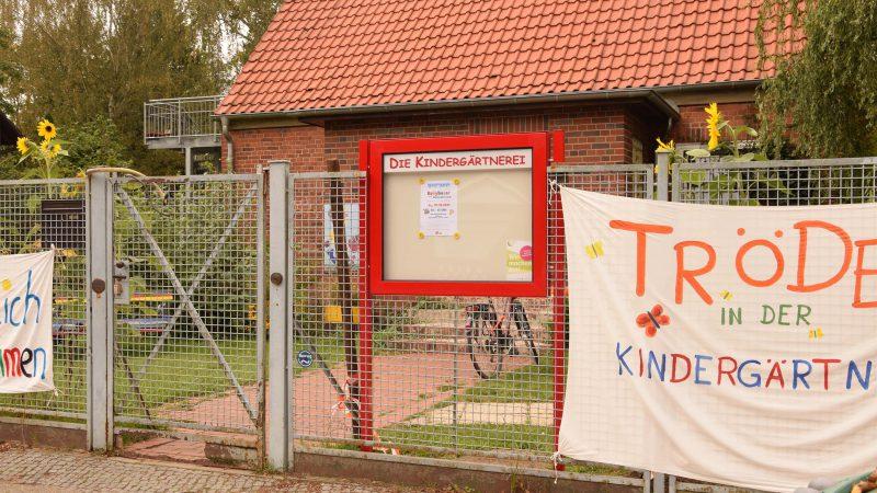 Schaukasten der Kindergärtnerei (Gebietsfondsprojekt 2016)