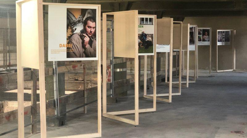 Die Ausstellung in der Alten Mälzerei am Tag der Städtebauförderung 2019 (Quelle: die raumplaner 2019)